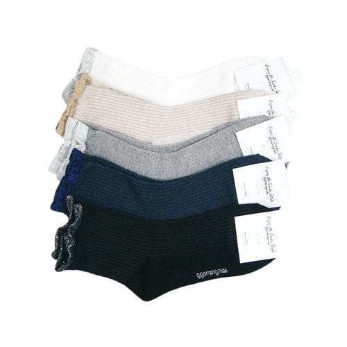 big2b 국산 여성용 레이스 발목 패션양말